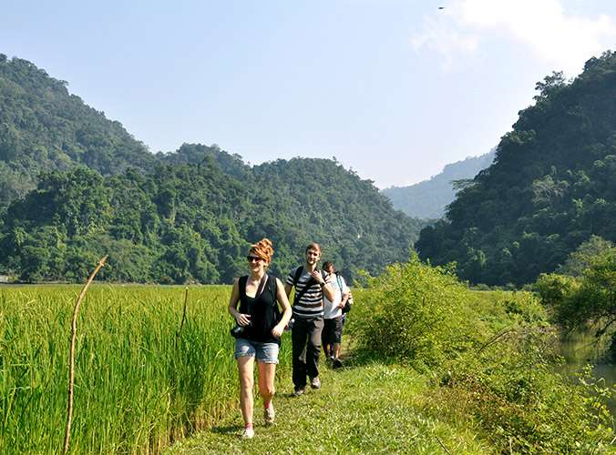 3-day Ba Be National Park discovery, Ba Be trekking