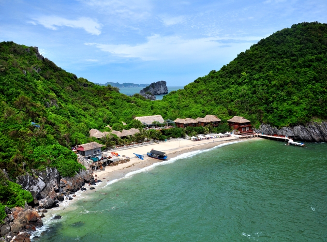 Ultimate North Vietnam Experience, monkey island resort