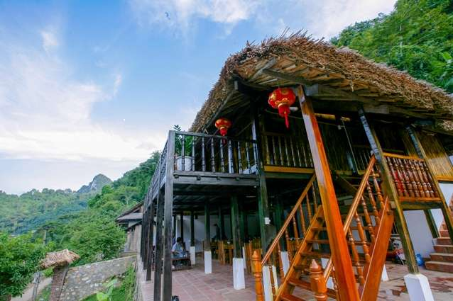 Homestay services of Tay people in Ba Be National Park