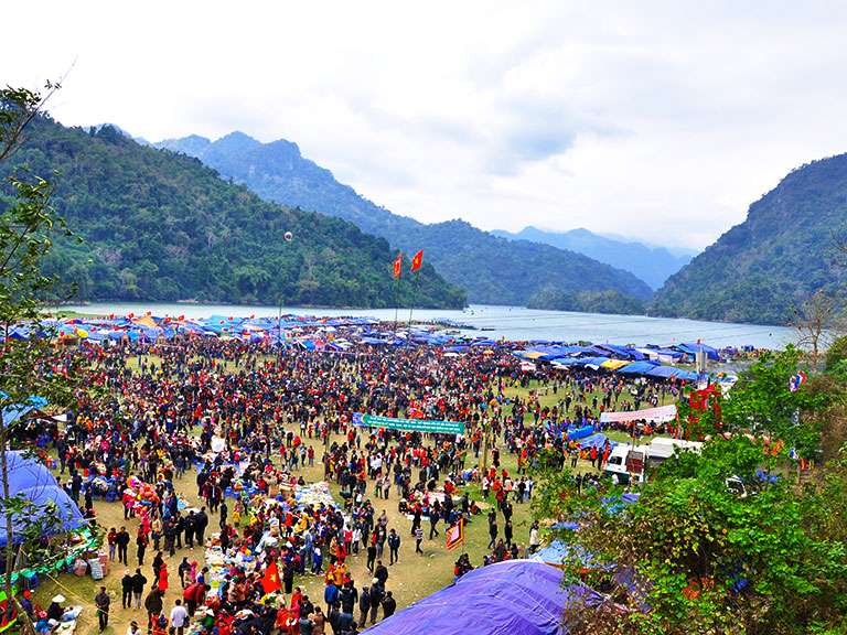 Long Tong festival of Tay ethnic minority in Ba Be