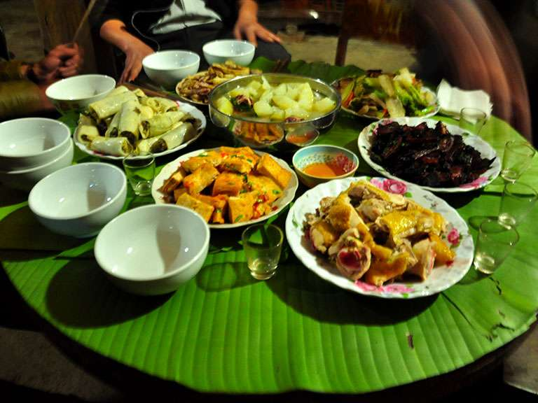 super-dinner-at-hung-homestay